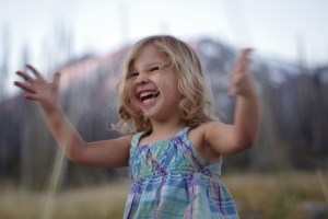 There's so much joy to be had in life when you're not stuck in your head. Demonstrated here by my amazing youngest daughter, as we enjoyed a camping trip to Mt. Adams in the Washington Cascades.