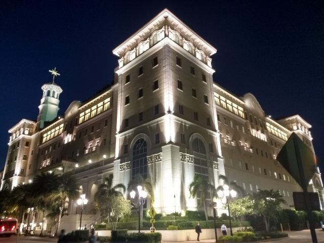 The Church of Scientology Flag Building in Clearwater, Florida
