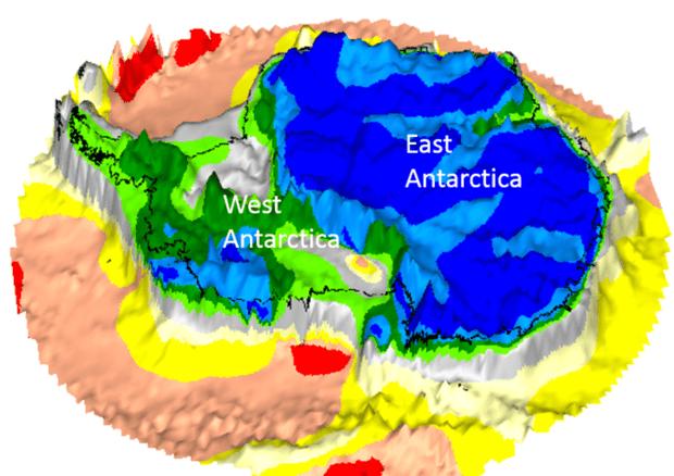 Tre continenti nascosti sotto i ghiacci dell'Antartide, la scoperta