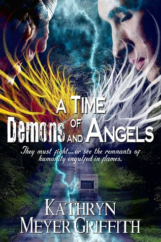 Book cover for a Time of Demons and Angels