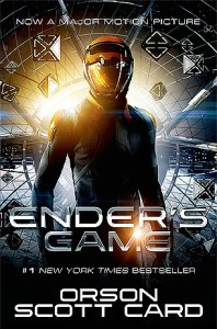 Ender's Game beats Tau Zero by just a smidgen. Ender Wiggin is one of the strongest, most damaged characters in Sci-Fi.