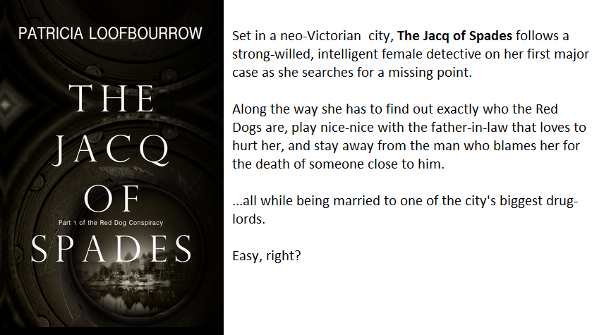 Book Cover and Synopsis for Jacq of Spades