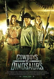 cowboys-versus-dinosaurs for horror movie parties