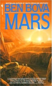 Book cover for Mars by Ben Bova