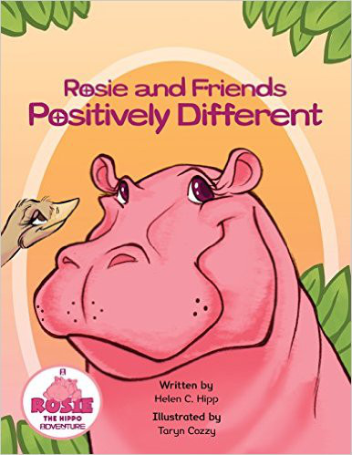 Rosie and Friends -positively-different-book-cover-photo