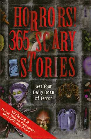 Book cover for Horrors! 365 Scary Stories