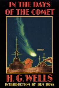 Book cover for In the Days of the Comet by H.G. Wells