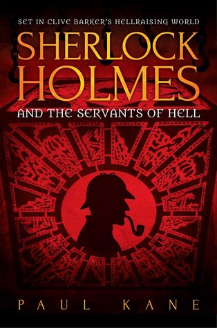 Book cover for Sherlock Holmes and the Servants of Hell