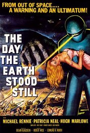 Movie cover for The Day the Earth Stood Still