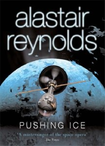 Book cover for Pushing Ice