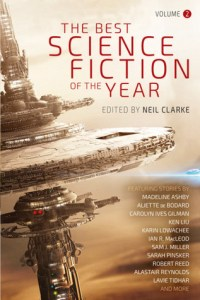Book cover Best Science Fiction of the Year Volume 2