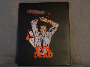 Evil Dead Painting by Retrosprays