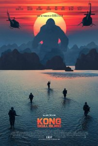 Movie poster for Kong Skull Island