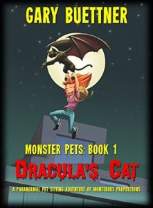 Book cover for Dracula's Cat