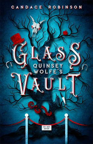 Book cover for Quinsey Wolfe's Glass Vault
