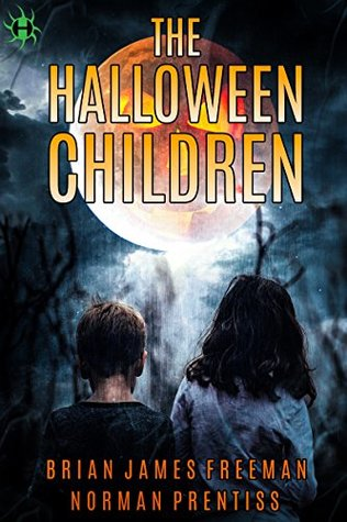 Book cover for The Halloween Children