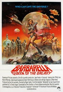 Movie cover for Barbarella