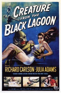Movie cover for Creature from the Black Lagoon