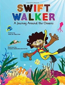 Book cover for Swift Walker: A Journey Around the Oceans