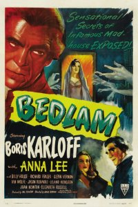 Bedlam Cover - Top Ten Movies Set in Asylums