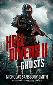 Book cover for Ghosts Helldivers 2