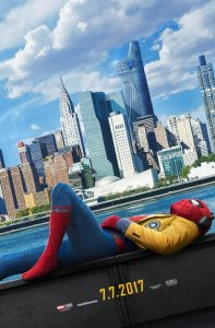 Movie poster for Spiderman Homecoming