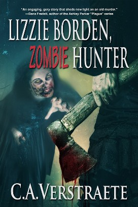 Book cover for Lizzie Borden Zombie Hunter