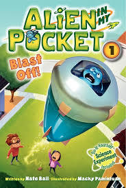 Book cover for Alien in my Pocket: Blast Off