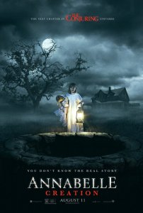 Movie poster for Annabelle Creation