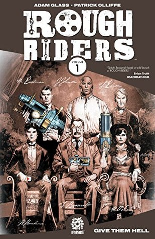 Book cover for Rough Riders Vol 1