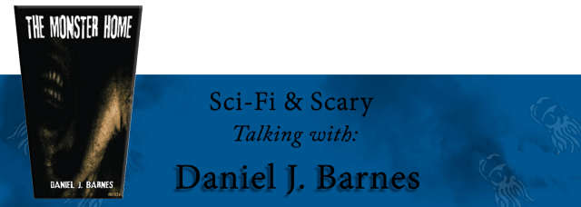 Interview banner for Daniel J. Barnes