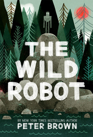 Book cover for The Wild Robot
