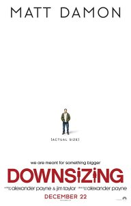 Movie cover for Downsizing