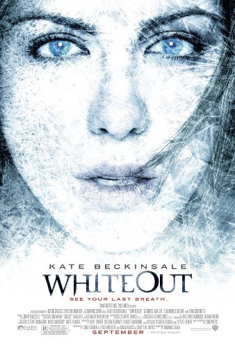 Movie poster for Whiteout