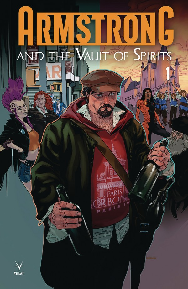Book cover for Armstrong and the Vault of Spirits #1