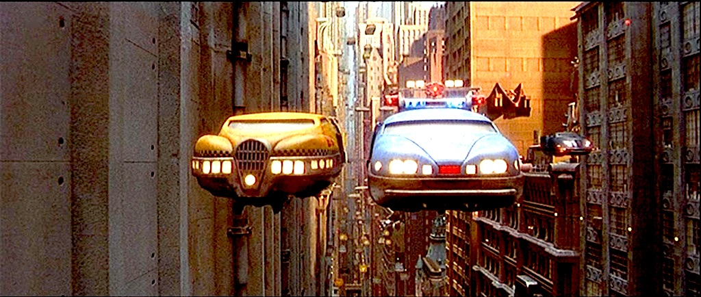 Fifth Element flying cars