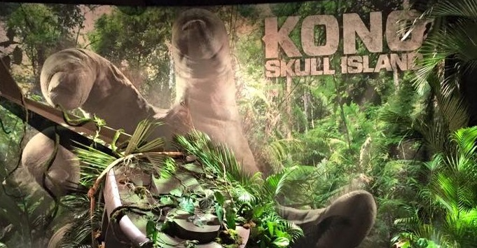 King Kong's hand spotted in first Kong: Skull Island billboard!