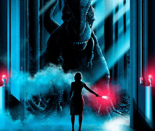 Awesome Jurassic World Fan Poster By Patrick Connan