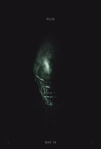 New Alien: Covenant Poster 'Run'