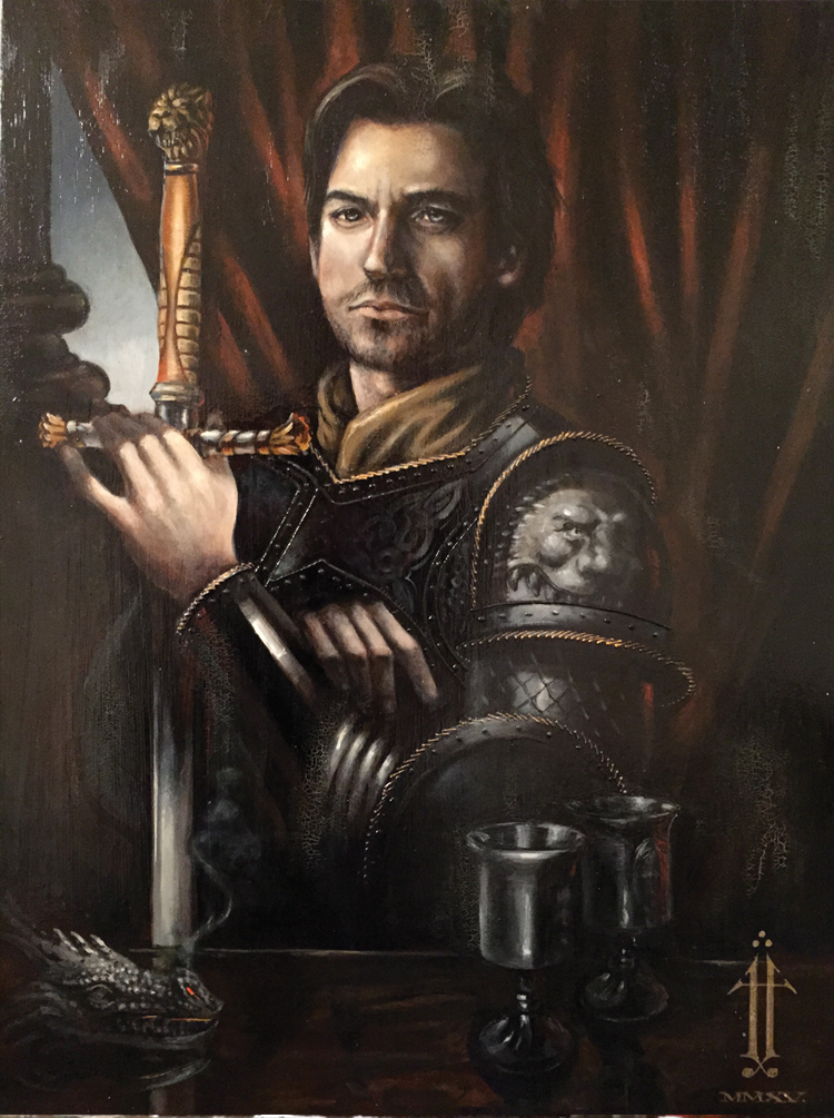 Game Of Thrones Portraits Of Jay Johnstone Sci Fi And Fantasy Network