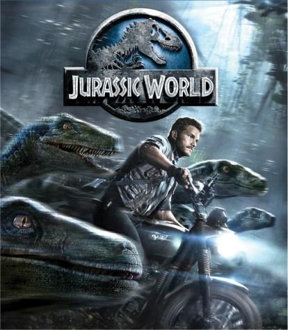 JURASSIC WORLD Blu-ray