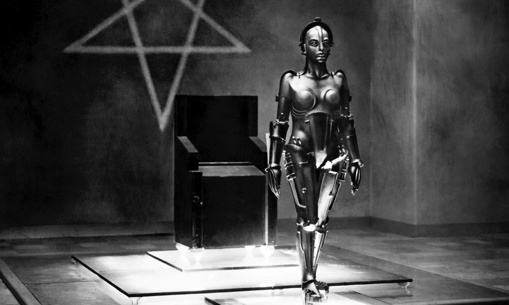Prod DB © UFA / DR METROPOLIS (METROPOLIS) de Fritz Lang 1926 ALL avec Brigitte Helm classique, science fiction, anticipation, robot, androide, pentacle d'après le roman de Thea Von Harbou