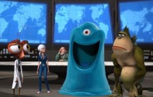 SCI-FI NERD: Animation Wednesday - Monsters vs Aliens (2009): Misfits Save The World