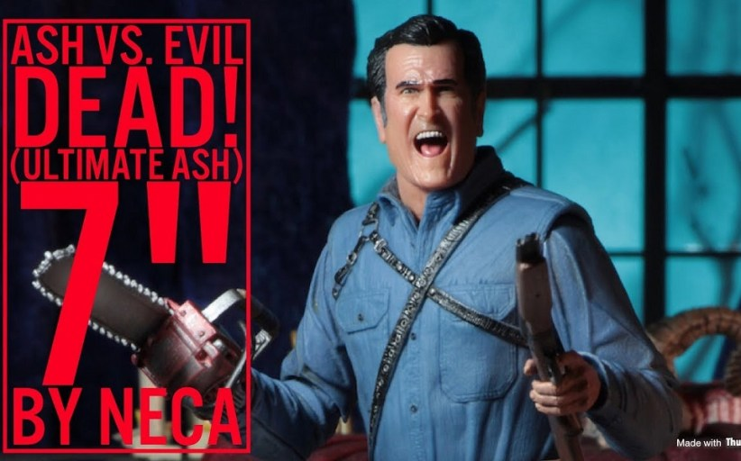NECA releases Ultimate Ash figure!