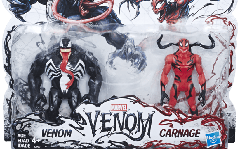 Hasbro unwraps new Venom figures