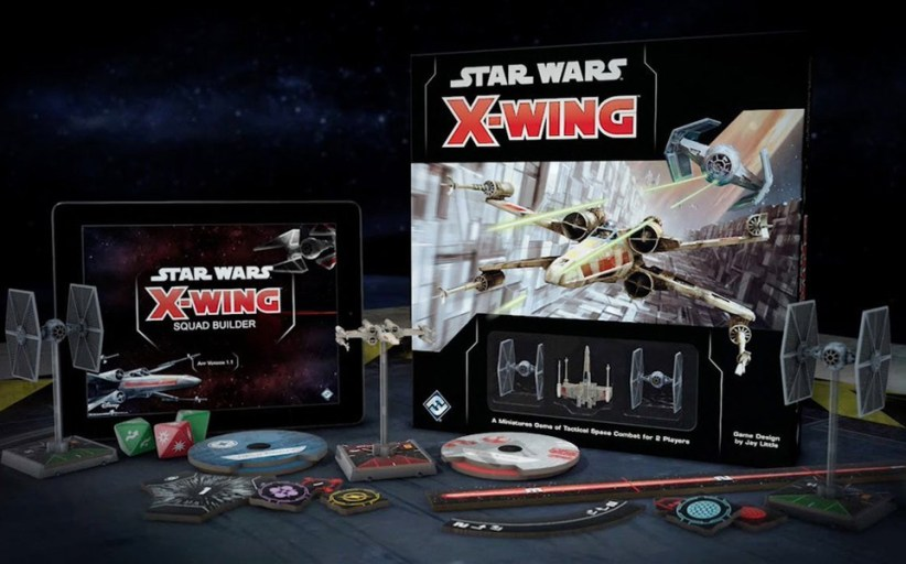Fantasy Flight Announces Star Wars X-Wing Second Edition