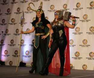 Cosplay: Best Group Lady Loki Lady Thor