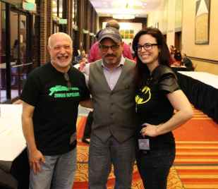 Mark with SciFiPulse writer Tye Bourdonay and their friend Jess.