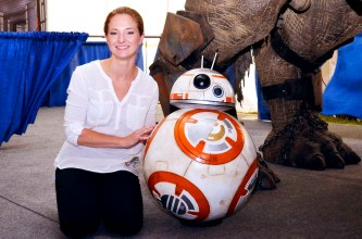 Laura Tyler and BB8
