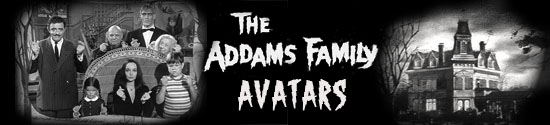 Addams Family Avatars and Icons